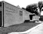 Exterior of Sevier Park Community Center, Nashville, Tennessee, circa 1963