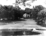 Golf Course and Club House at Shelby Park, Nashville, Tennessee, circa 1950s
