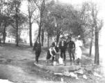 Sulphur fountain at Morgan Park, Nashville, Tennessee, between 1916 and 1935