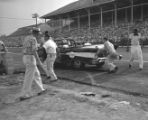 NASCAR 100-mile race at the Nashville Fairgrounds Speedway, 1958 August 10