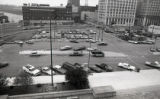 Parking lot construction surrounding the Metropolitan Courthouse, Nashville, Tennessee, 1976 July...