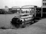 Riverfront Park development area before it was completed as an urban park, Nashville, Tennessee,...
