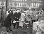 Groundbreaking ceremony of the Nashville Children's Theatre, Nashville, Tennessee, circa 1959