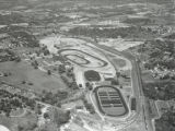 Aerial view of the Tennessee State Fairgrounds, Nashville, Tennessee, 1958