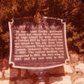 Saint Cecilia Academy historical marker, Nashville, Tennessee, 1980 August