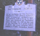 Patterson Forge historic marker, Cheatham County, Tennessee, 1977 August