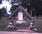 Eugene C. Lewis mausoleum at Mt. Olivet, Nashville, Tennessee, 1978 June