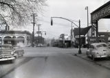 West End Avenue at Seventeenth, Nashville, Tennessee, circa 1951 April 02