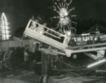 Amusement ride at the Tennessee State Fair, Nashville, Tennessee, 1969 September