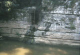 Demonbreun Cave along the Cumberland River, Nashville, Tennessee, circa 1980