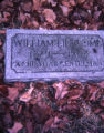 Gravesite of William Lipscomb at Mt. Olivet, Nashville, Tennessee, 1980 March