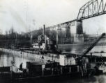 City of Nashville Water Works construction of waterline, Nashville, Tennessee, between 1925 and...