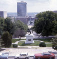 Andrew Jackson equestrian statue, Nashville, Tennessee, 1977 June