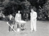 Groundbreaking of the Lentz Center, Nashville, Tennessee, 1958 June