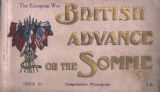 The European War. British Advance on the Somme, Serie 20, Detachable Postcards, Paris, France,...