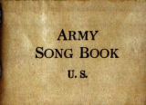 Army song book, 1918