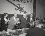 American Cancer Society National Officers visit Nashville, Tennessee, 1955 April