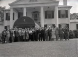 Brazilian officials visit Nashville, Tennessee, 1956 June