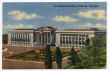 War Memorial Building, Nashville, Tennessee, circa 1950