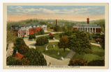 Ward-Belmont showing academic building and Pembroke Hall, Nashville, circa 1915