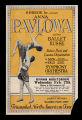 S. Hurok Inc. presents Anna Pavlowa and her Ballet Russe, 1924