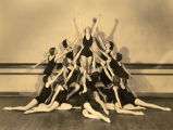 A class in Modern Dance at Ward-Belmont College, 1933 March