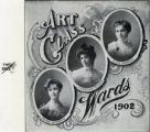 "Art Class, published in ""The Iris"" Yearbook of Ward's Seminary for Young Ladies, Nashville, Tennessee, 1902"