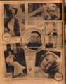 Photomontage of actresses, one of whom is from Clarksville, Tennessee. Nashville Banner, 1932...