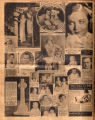 Photomontage of actresses, children and babies, and four ads. Nashville Banner, 1931 November 22.