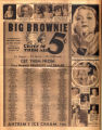 Photomontage of babies, actresses, and an ad. Nashville Banner, 1931 November 29.