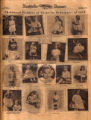 Photomontage of childhood photos of Nashville debutantes. Nashville Banner, 1932 November 6.