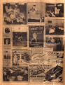 Photomontage of Nashville welfare agencies and five ads. Nashville Banner, 1932 November 13.