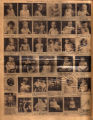 Photomontage of children and babies of Tennessee families, and three ads. Nashville Banner, 1932...