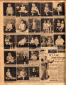 Photomontage of children of Tennessee families and three ads. Nashville Banner, 1931 August 16.