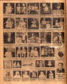 Photomontage of babies and children of Tennessee families and four ads. Nashville Banner, 1932...
