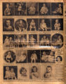 Photomontage of babies and children of Tennessee families and one ad. Nashville Banner, 1931...