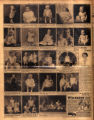 Photomontage of babies and children of Tennessee families and two ads. Nashville Banner, 1931...
