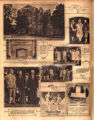 Photomontage of the West End Methodist education center, Republican national committee women,...