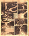 Photomontage showing Tennessee dams. Nashville Tennessean, 1929 September 1.