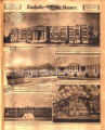 Five drawings of schools to be built in Nashville. Nashville Banner, 1928 May 20.
