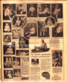 Photomontage of babies and children of Tennessee families and two ads. Nashville Banner, 1928 May...