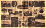 Photomontage of photographs of Tennesseans in the Spanish-American War. Nashville Banner, 1928...