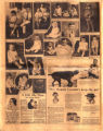Photomontage of babies and children of Tennessee families and four ads. Nashville Banner, 1928...