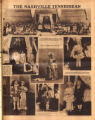 Photomontage of children's Mardi Gras celebration in Nashville. Nashville Tennessean, 1931 March 1.