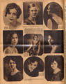 Photomontage of portraits of Tennessee women in a beauty contest. Tennessean, 1931 March 15.