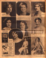 Photomontage of portraits of Tennessee women in a beauty contest. Tennessean, 1931 March 29.