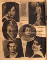 Photomontage of portraits of Tennessee women in a beauty contest. Tennessean, 1931 January 4.