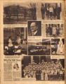 Photomontage of Highland Heights Junior High School and Tarbox School, and an ad.  Tennessean,...