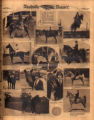 Photomontage of young girls riding horses. Nashville Banner, 1932 May 8.