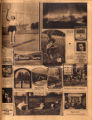 Photomontage of winning images in an amateur photography contest and seven ads. Nashville Banner,...